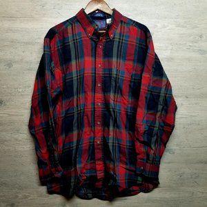 Vintage Pendleton Flannel Button Down Shirt. Soft!